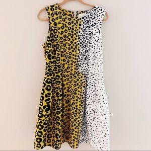 Julie Brown Leopard Print Dress